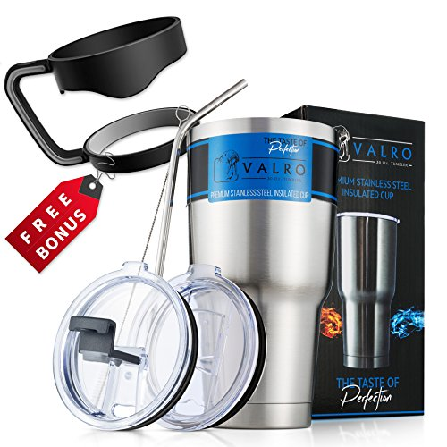 30 Oz Stainless Steel Tumbler, SPILL PROOF Travel Coffee Mug