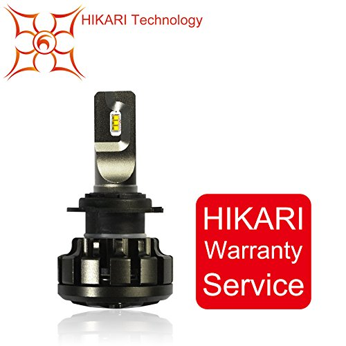 HIKARI Ultra LED Headlight Bulbs Conversion Kit -H7,Philips